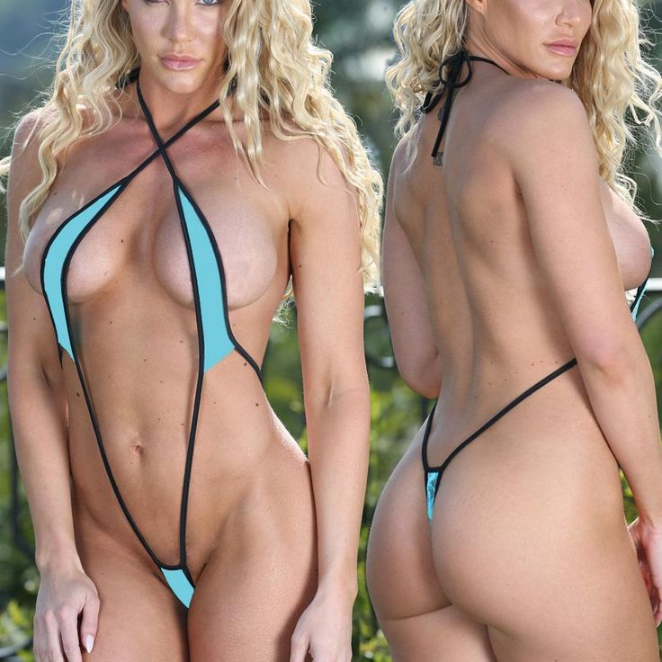 Summer Beach Sexy Rainbow Bikini Bandage Strappy Swimsuit Women Cherrynudes 1