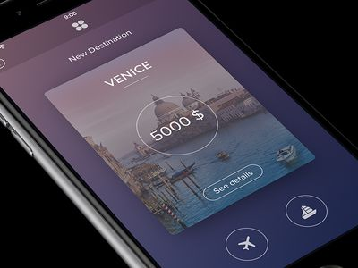 Travel App [Card View]