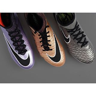 Top booties van Nike! #mercurial #superfly #hypervenom #phantom #magista #obra #liquid #chrome #silver #copper #delsport
