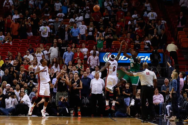 Photo Gallery: #Celtics vs. #Heat - November 9, 2013. Jeff Green buzzer beater. It may be early in the season, but that doesn't mean it doesn't taste good!