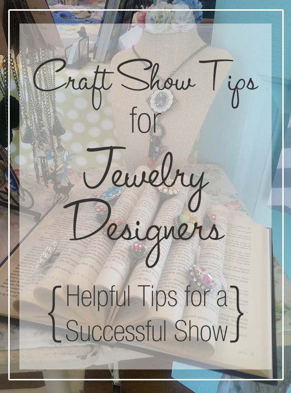 Craft Show Tips for Jewelry Designers –