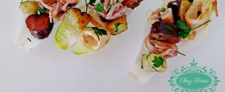 """Receita recriada pela blogger Chez Sónia a partir da nossa obra """"Arte da Cozinha""""."""