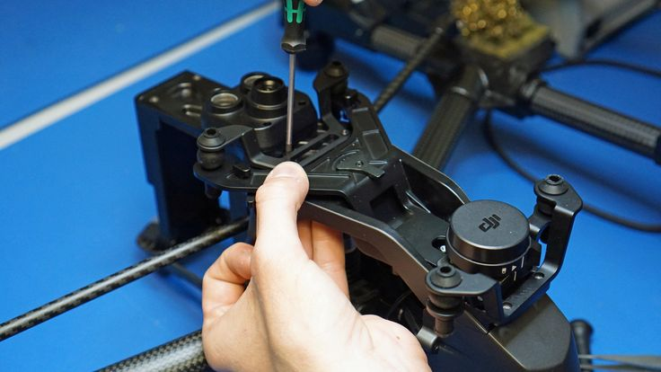 DJI Inspire 1 Pro Black having a new Ncore fitted