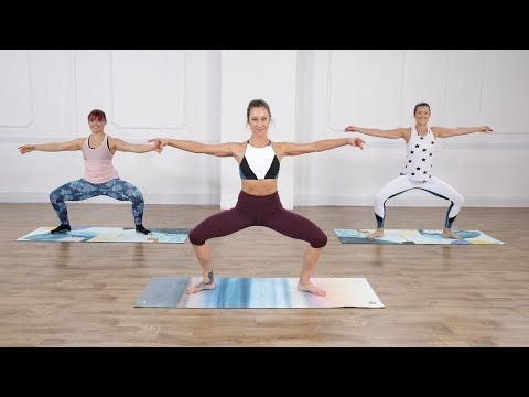 45-Minute Cardio Pilates - YouTube