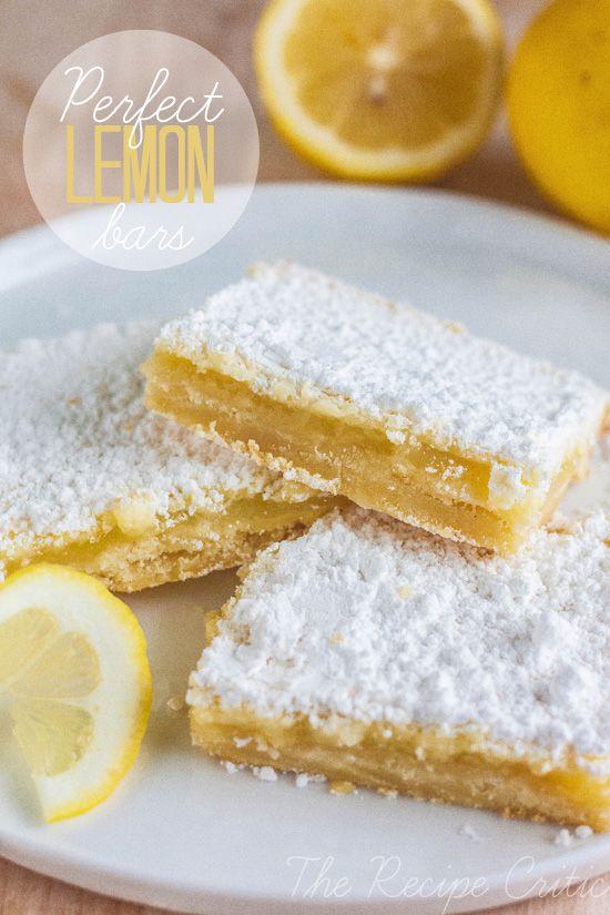 ... lemon bars! Desserts, Lemon Bars, S'More Bar, S'Mores Bar, Perfect
