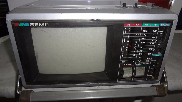 rádio e tv portátil semp - tvc-6 - promoçao leia