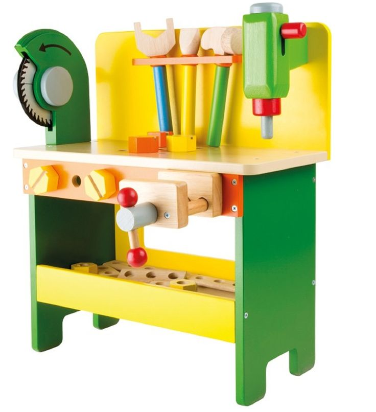 Mentari Power Tools Wooden Workbench Lessons Plans