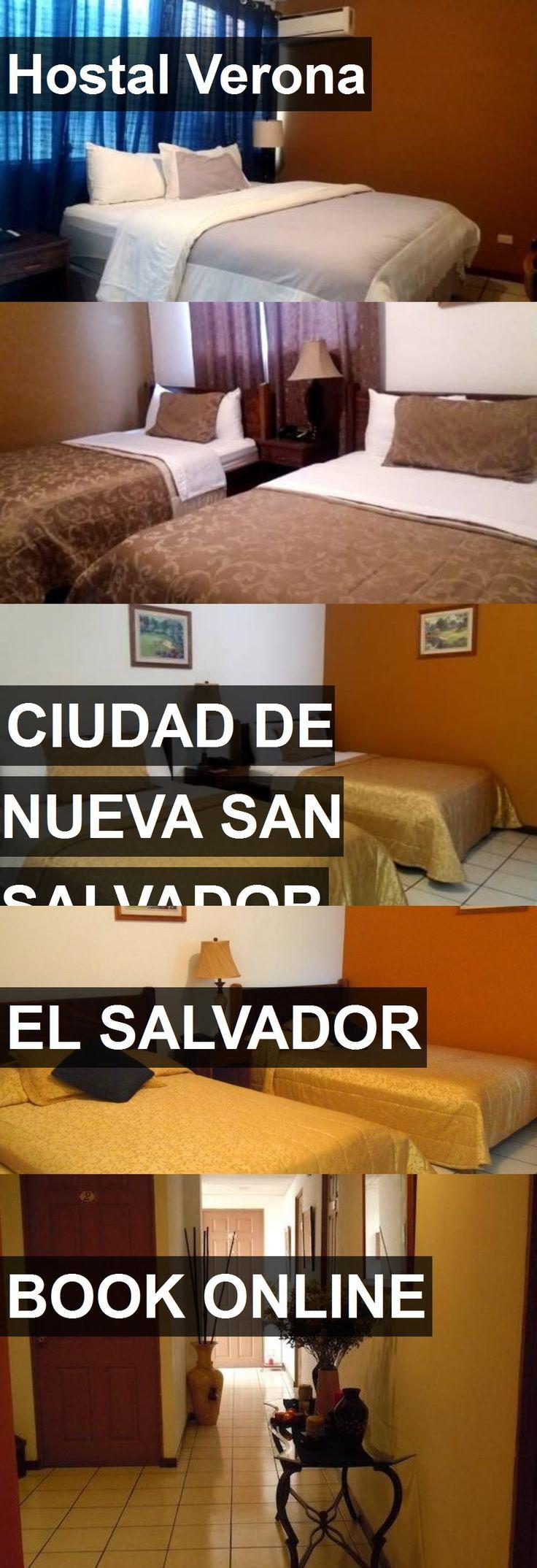 Hotel Hostal Verona in Ciudad de Nueva San Salvador, El Salvador. For more information, photos, reviews and best prices please follow the link. #ElSalvador #CiudaddeNuevaSanSalvador #HostalVerona #hotel #travel #vacation