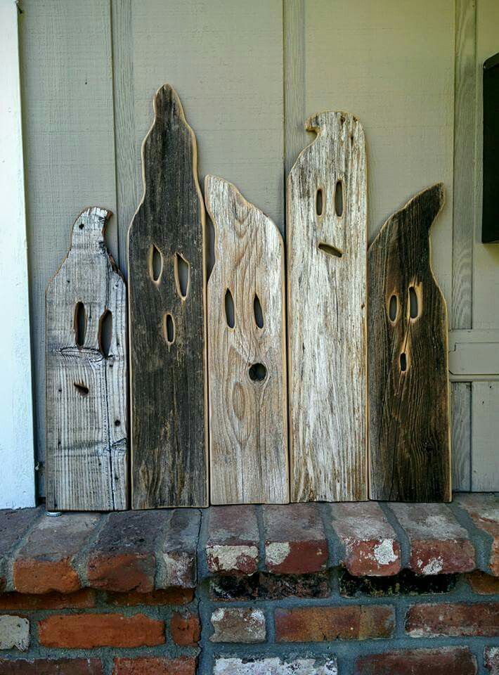 Great looking primitive DIY project for Halloween!