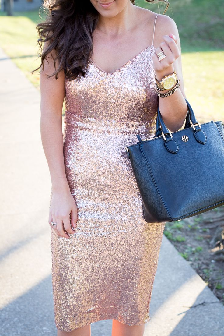 sequin midi dress, sparkly dress // grace wainwright from a southern drawl