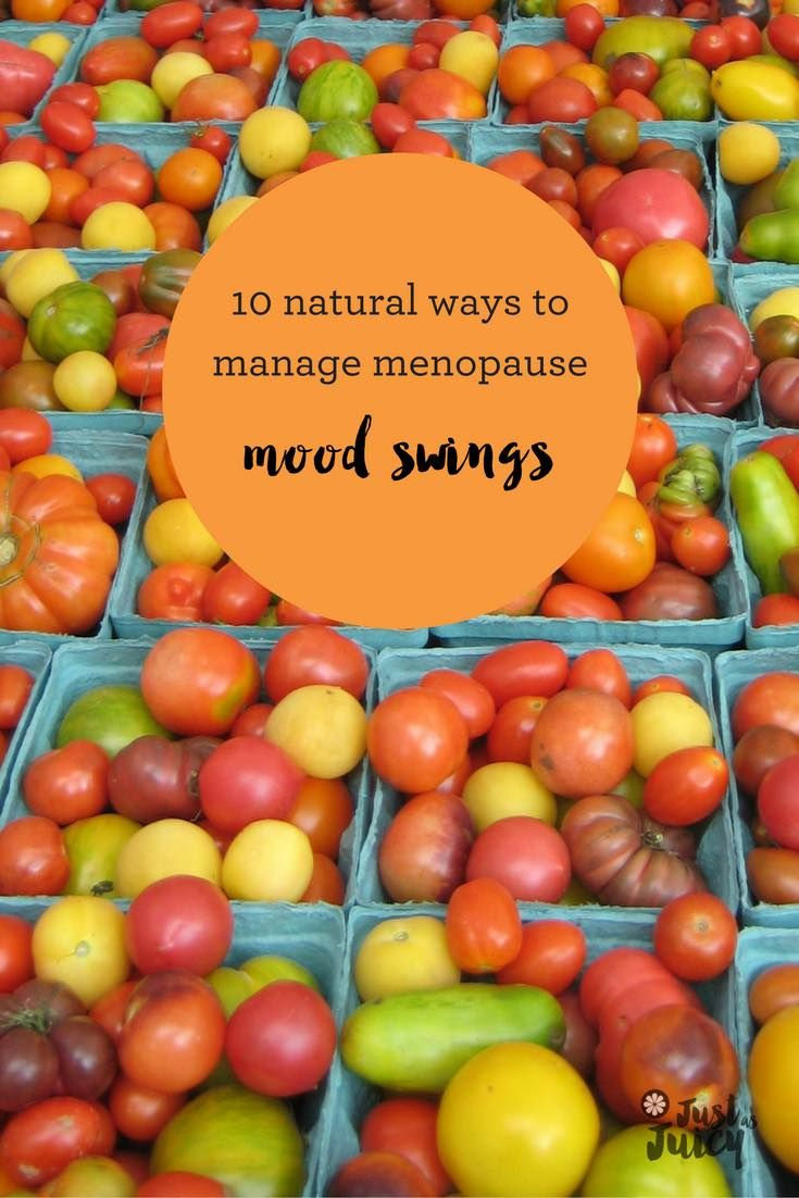 Ever wondered about how to manage all those menopause mood swings without resorting to drugs? Or killing someone? Try some of these tips - www.justasjuicy.com via @melkettle