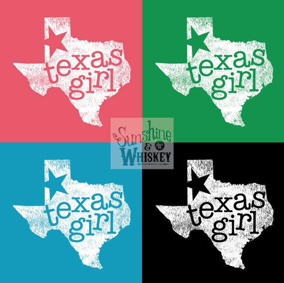 CARIBBEAN BLUE  Texas Girl  TShirt Graphic by SunshineWhiskeyShirt, $26.99