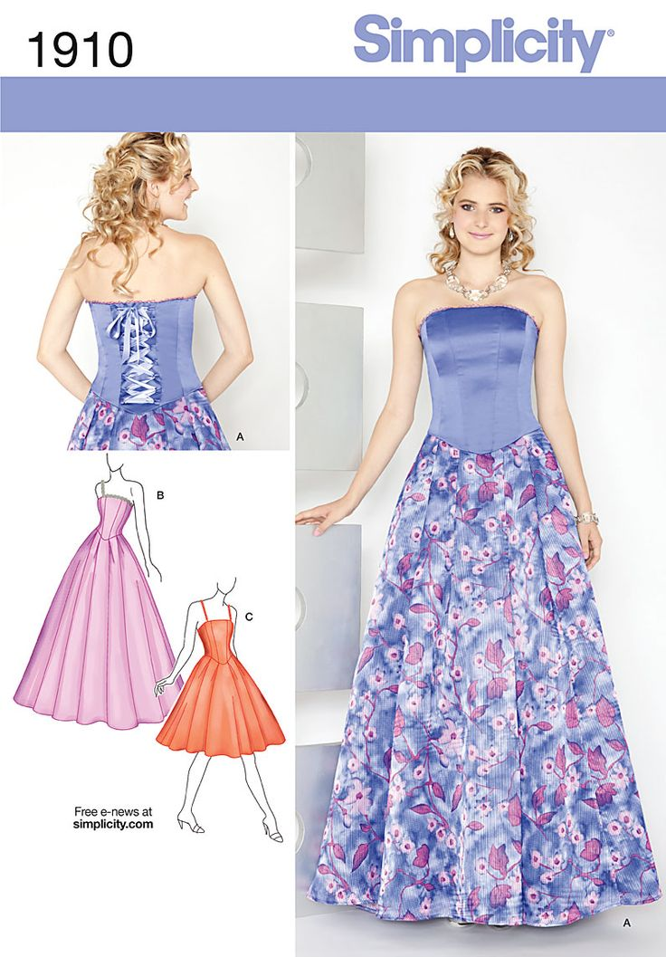 138 best simplicity patterns images on Pinterest | Patron de couture ...