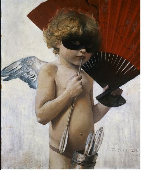 Cupid at the Masked Ball - Franz Von Stuck - WikiArt.org