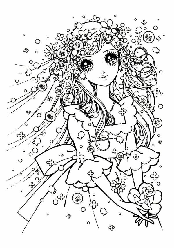 manga eye coloring pages - photo#15