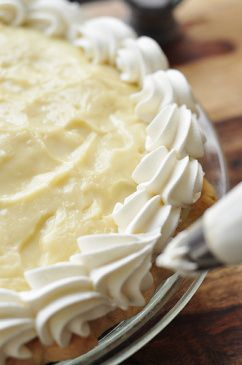 From Scratch Banana Cream Pie!!