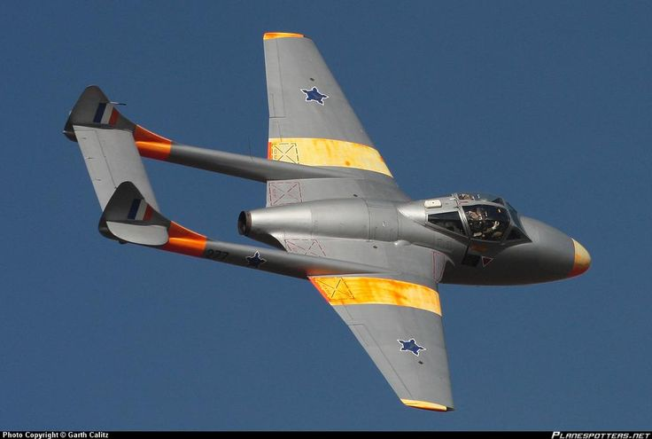 south african air force vampire