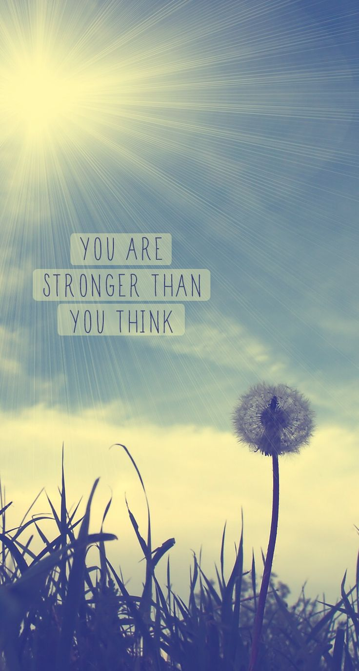 You Are Strong - iPhone Inspirational & motivational Quote wallpapers @mobile9