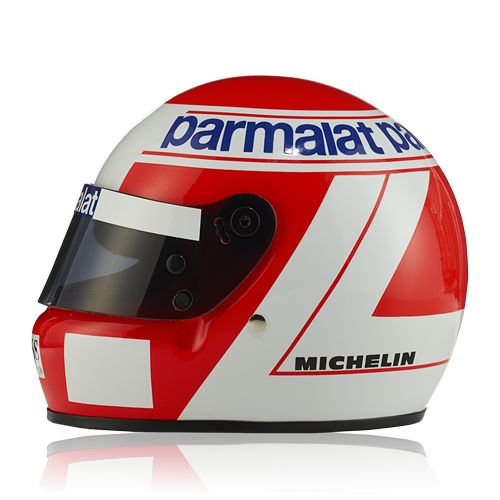 """""""Vodafone McLaren Mercedes"""" Lauda Helmet 1984 (1:2) at McLaren Store"""