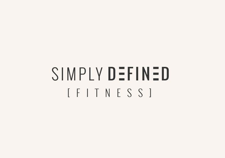 Simply Defined Fitness Custom Branding Fitness Branding