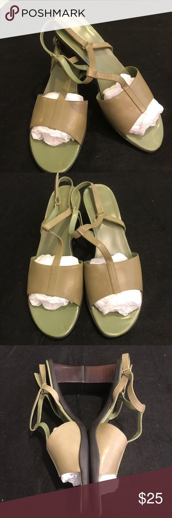 Easy Spirit Sandals (MWOT) NWOT- Easy Spirit Sandals. Never used. Very soft and comfortable. Heels 👠 height: 3', size: 10M Easy Spirit Shoes Sandals