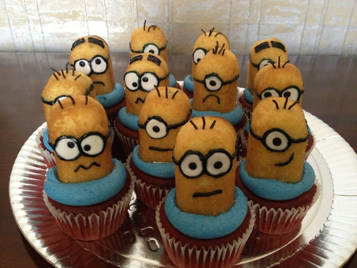 Despicable Me 2 Cakes and Cupcakes