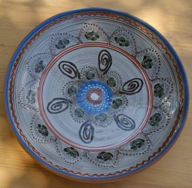 Farfurie romaneasca zona Horezu (26 cm) 16