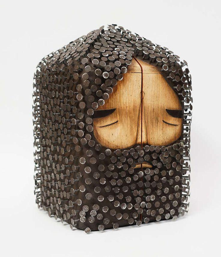Jaime Molina – Beautiful creations between street art and sculpture (image)