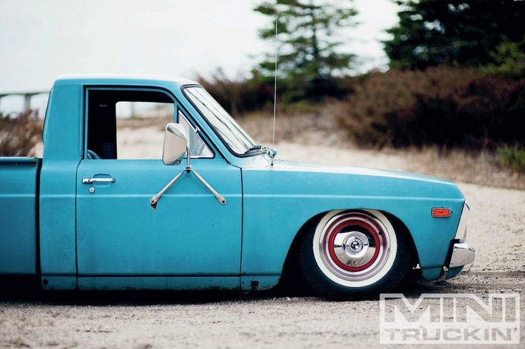 1974 Ford Courier - Into The Wild - Mini Truckin' Magazine