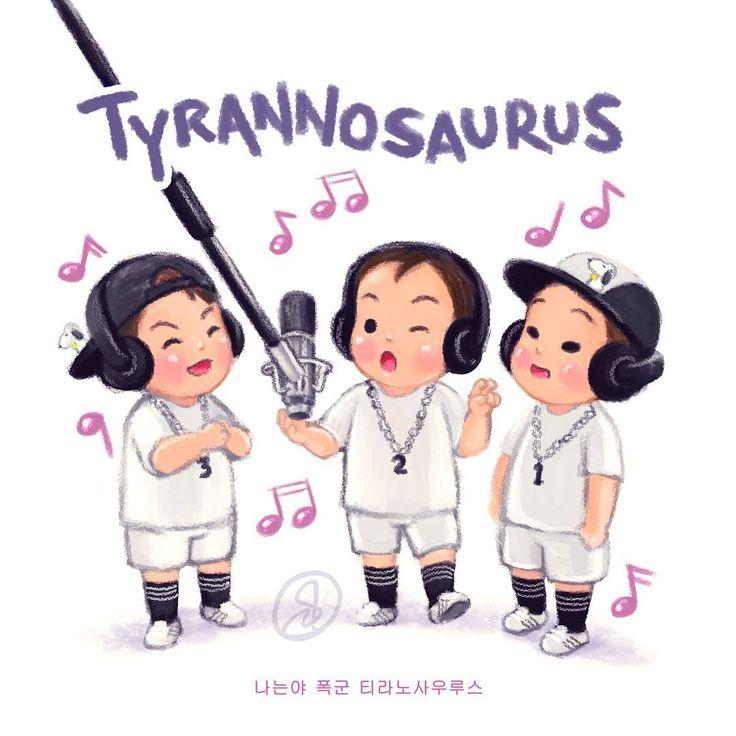 """"""" I'm a tyrant ~ Tyrannosaurus """""""