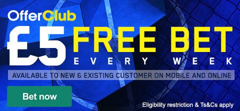 £5 free bet every week