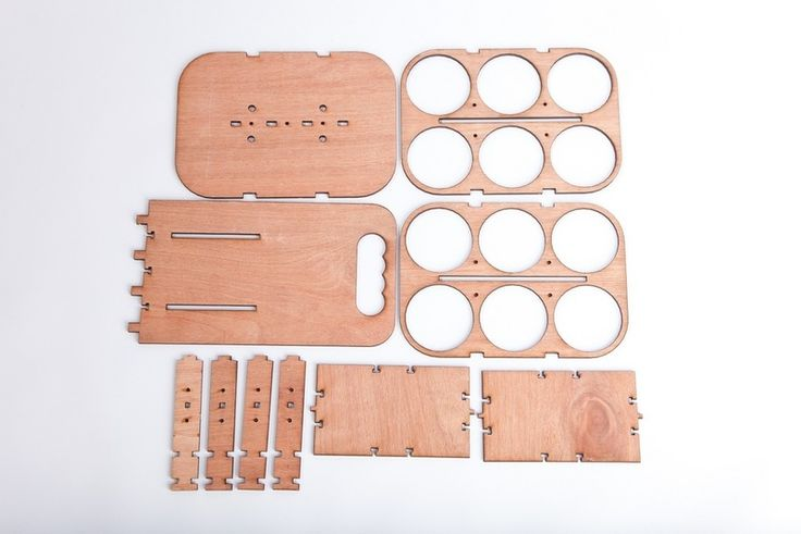 Wooden Six pack holder instructions