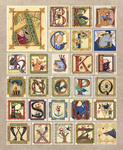 les 1283 meilleures images du tableau lettres sur pinterest enluminure lettres lumineuses et. Black Bedroom Furniture Sets. Home Design Ideas