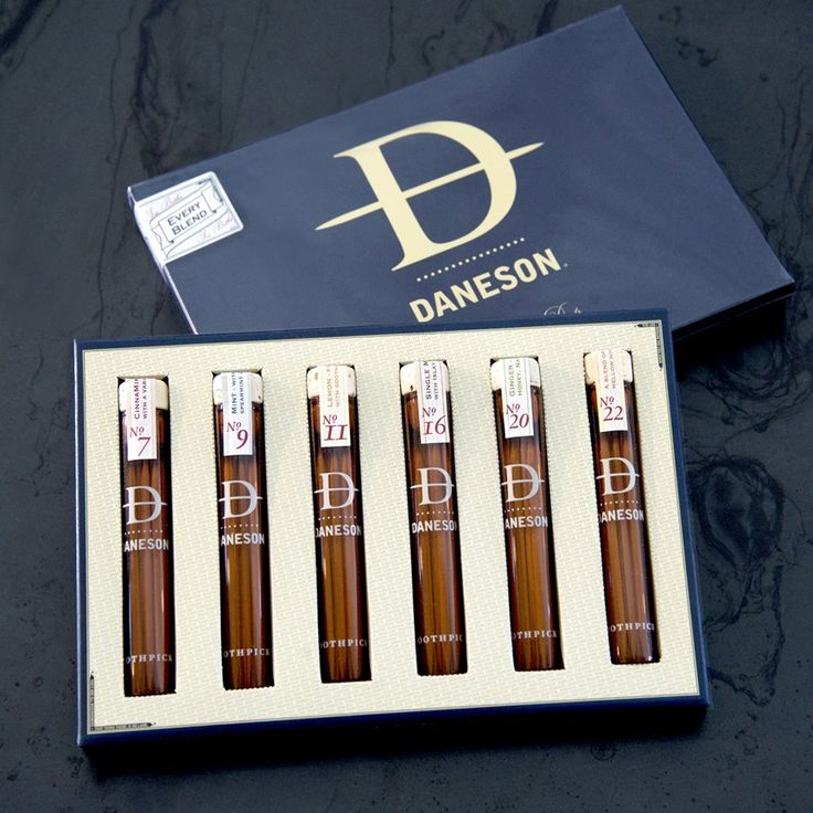 Daneson Toothpicks 6-Pack Gift Box – Every Blend
