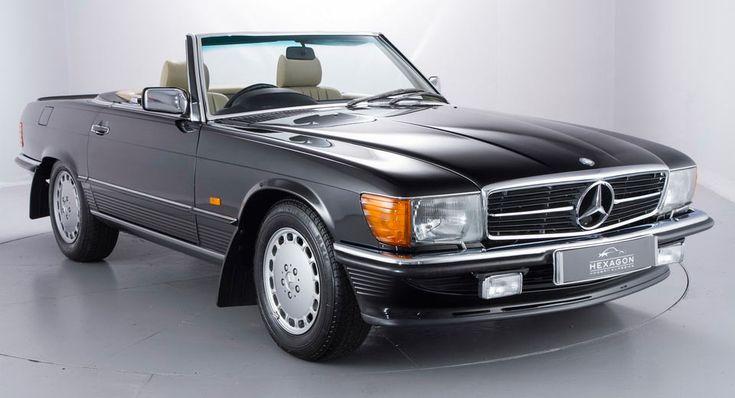 Timewarp 1989 Mercedes 500SL Has Less Than 1000 Miles On It
