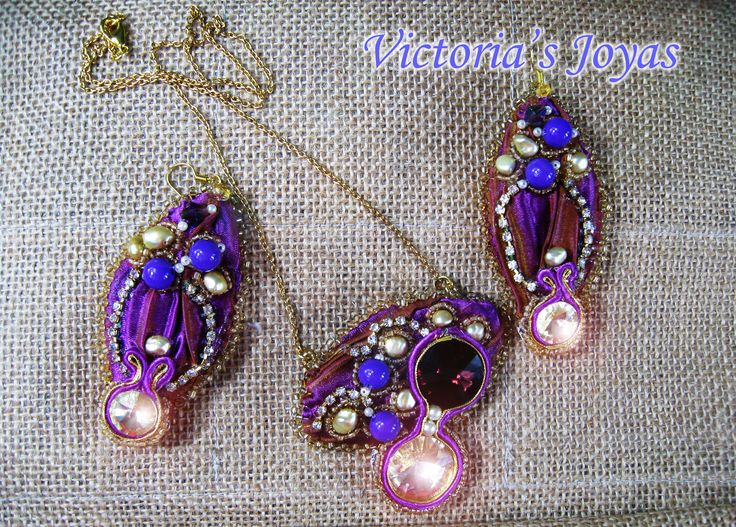 Conjunto Violeta Virginia – VICTORIA´S JOYAS