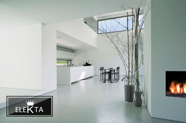 Lumina finishes in this open plan kitchen creates a wonderful open space #interiordecorating #lounge #elekta #lumina #cement