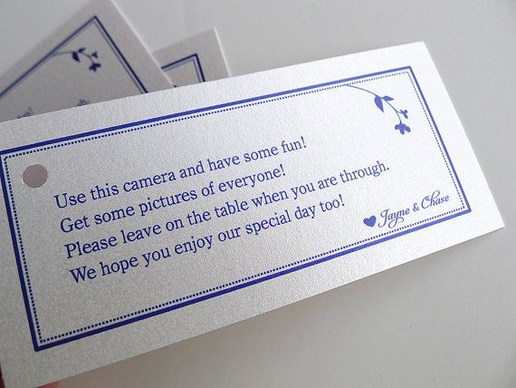 25 Best Ideas About Disposable Camera Wedding On Pinterest Wedding Activit