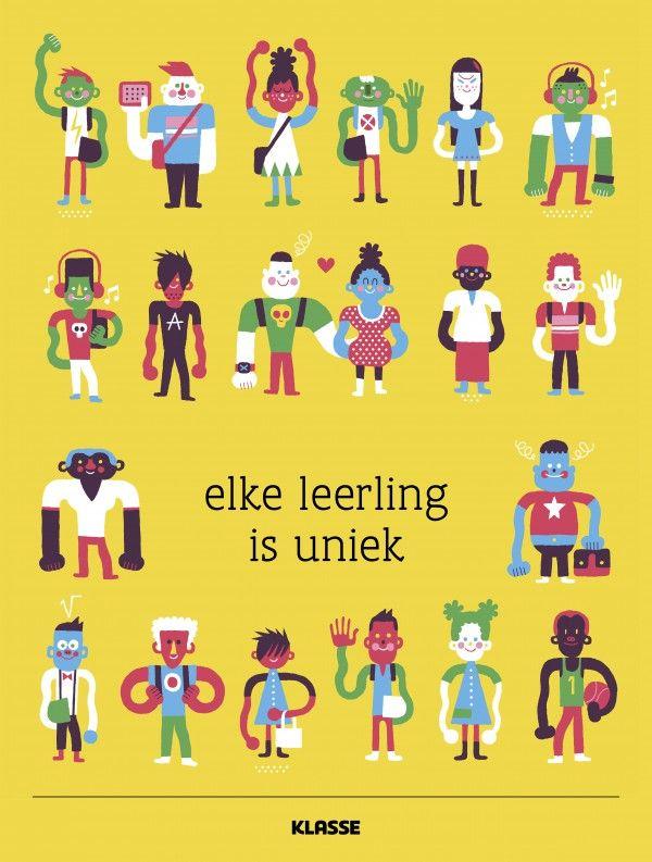 Houd jij rekening met diversiteit in de klas? Download deze poster en hang hem  op school.