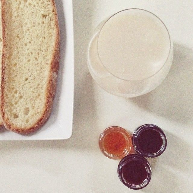Three stages of my brakfast, slow life, happy food  (Discover Sojasun Italian Facebook, Pinterest and Instagram Pages!)
