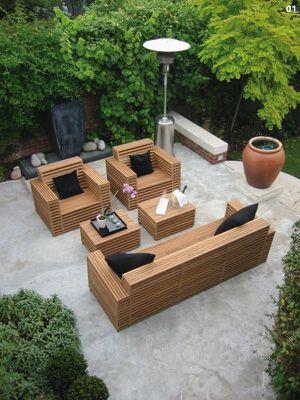 making wooden garden furniture