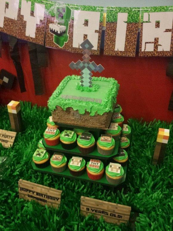 18 inspira es para uma festa minecraft festa minecraft - Ideas para cumpleanos 18 ...