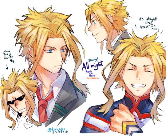 Boku no Hero Academia, All Might, Toshinori Yagi