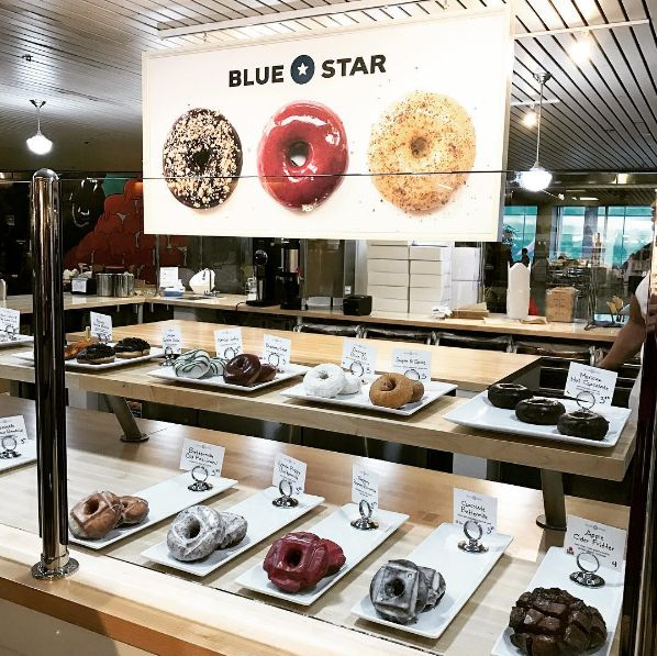 Don't go to Voodoo Doughnuts in Portland, Oregon. Try Blue Star Donuts, Sesame Donuts, or a food cart instead.
