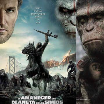 """Este 24 de Julio es el estreno de """"El Planeta de los simios: Confrontación"""""""