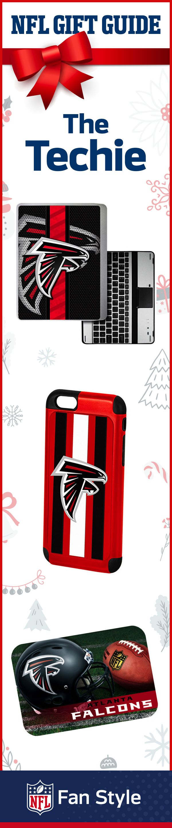 For the fan who always needs to be on top of the score, this Atlanta Falcons gift set has everything he/she needs to stay connected.