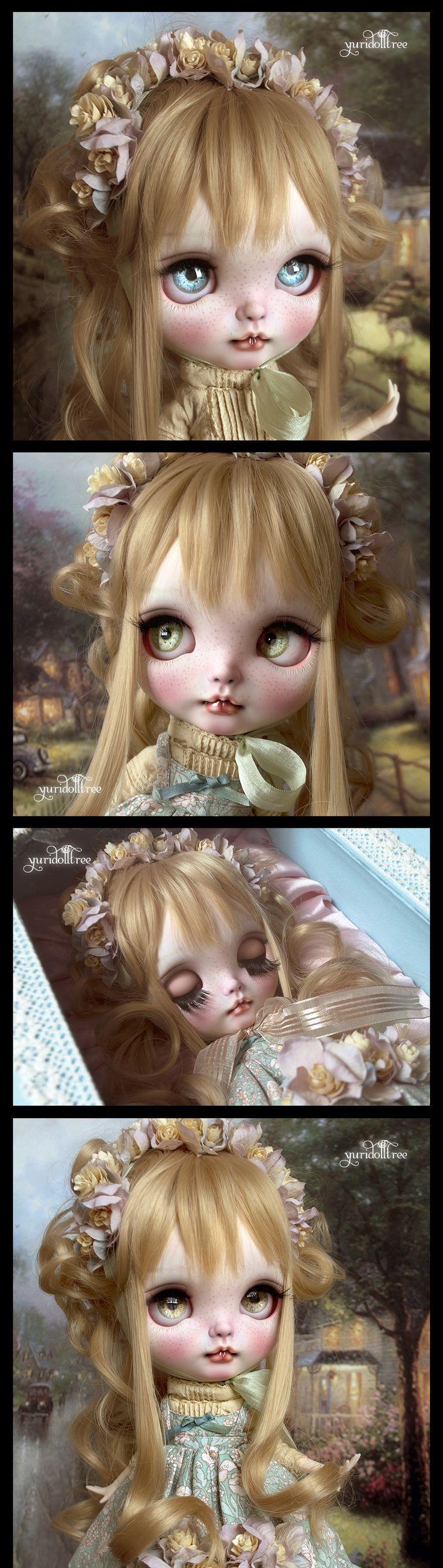 Custom Blythe Dolls: Yuridolltree Custom Blythe - A Rinkya Blog
