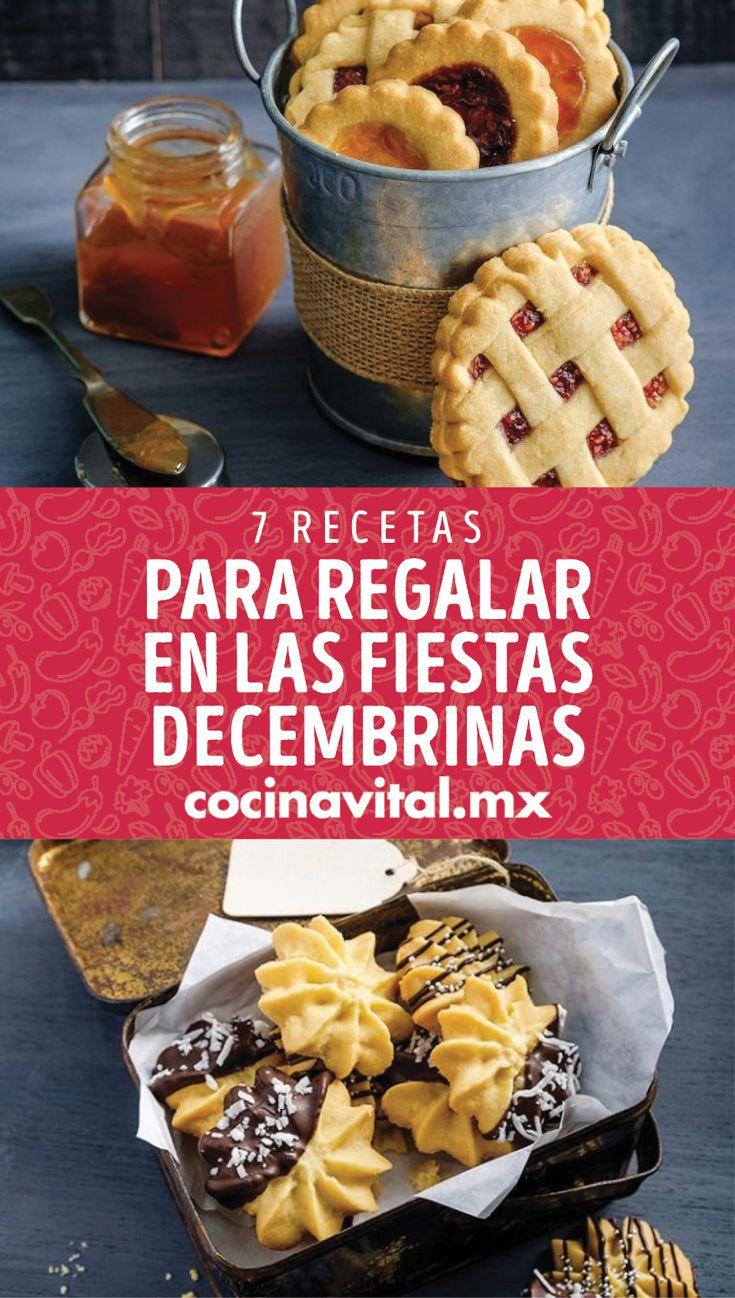 Si acostumbras a dar algún detalle en estas fiestas decembrinas, ¡atrévete a regalar postres! Estas delicias son perfectas y deliciosas, ¡aquí las recetas! Biscotti, Waffles, Recipies, Cooking Recipes, Bread, Snacks, Cakes, Drinks, Breakfast