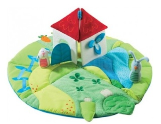 Non-Toxic and Organic Playgyms for Baby: Haba Play Rug Discoverers