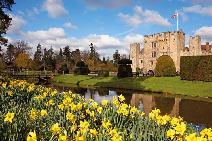 Visit the lovely Hever Castle and learn about the life of Ann Bolyen.  Enjoy the gardens in Spring bloom and visit the cafe for a restorative afternoon tea!